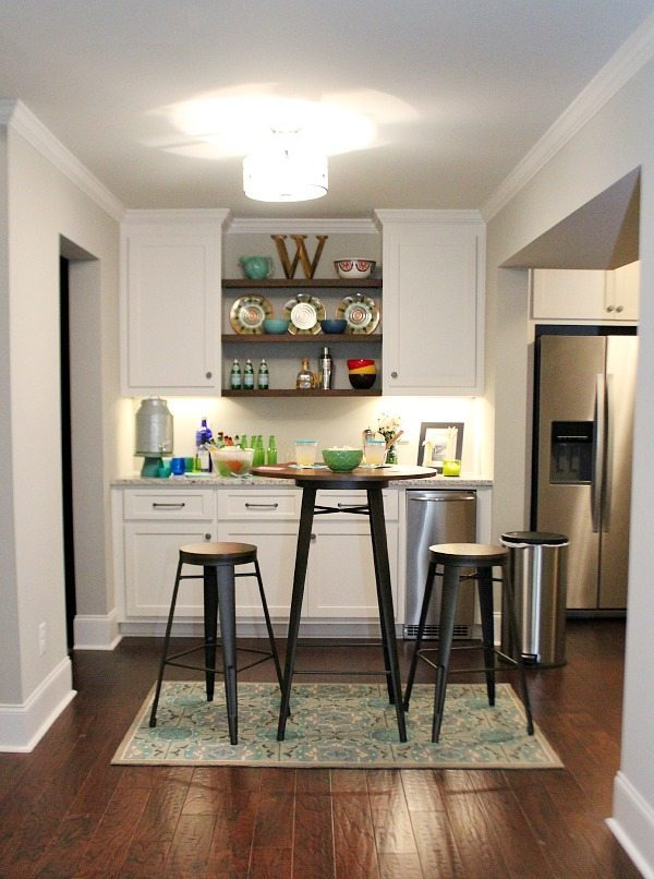 Basement decor ideas from gutted to finished, light and bright space!