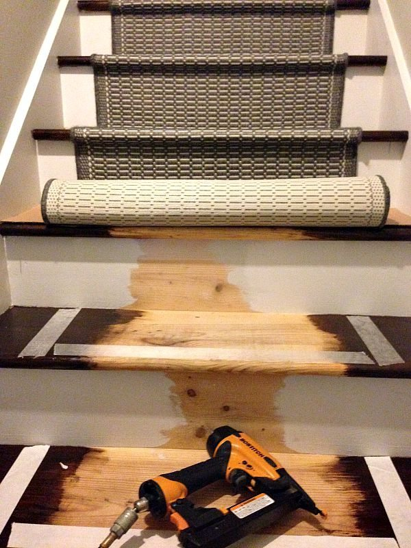 How add runners to your stairway