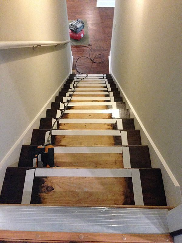 How to prep your stairs for adding a runner