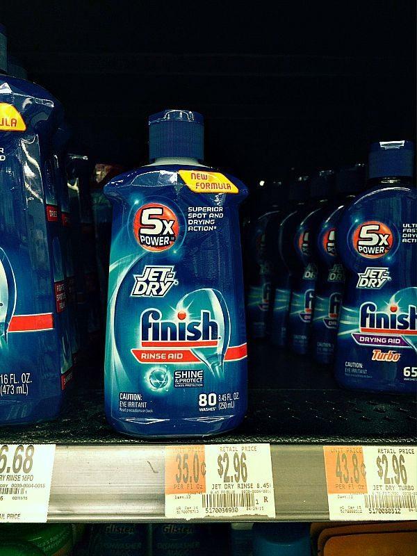 Jet Dry Finish Rinse Aid my favorite