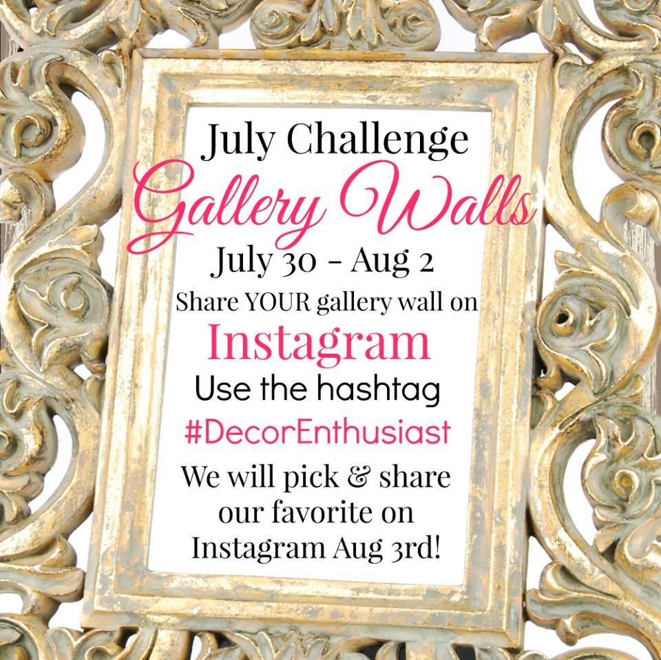 Gallery Wall Challenge