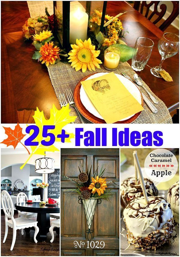 25 and more Fall Ideas