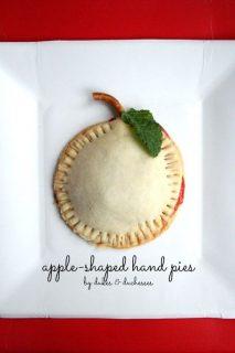 Apple Shaped Hand Pie