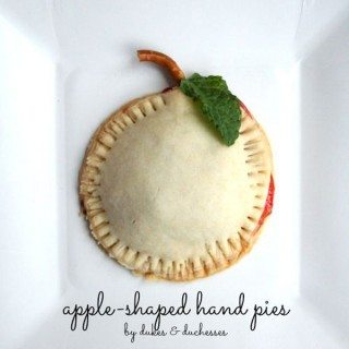 Apple Shaped Hand Pie