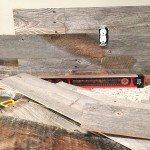 Barn wood wall wood at the socket