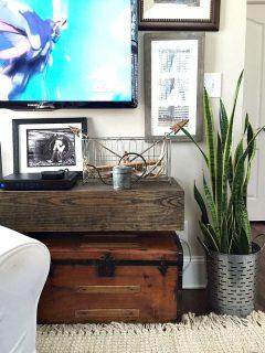 Customize a floating shelf
