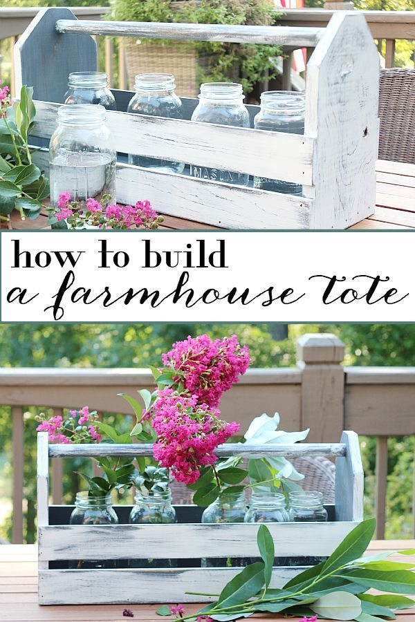 How to build a farmhouse tote - Gorgeous Farmhouse Projects