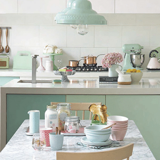 Pastel Kitchen from Inspiration Monday