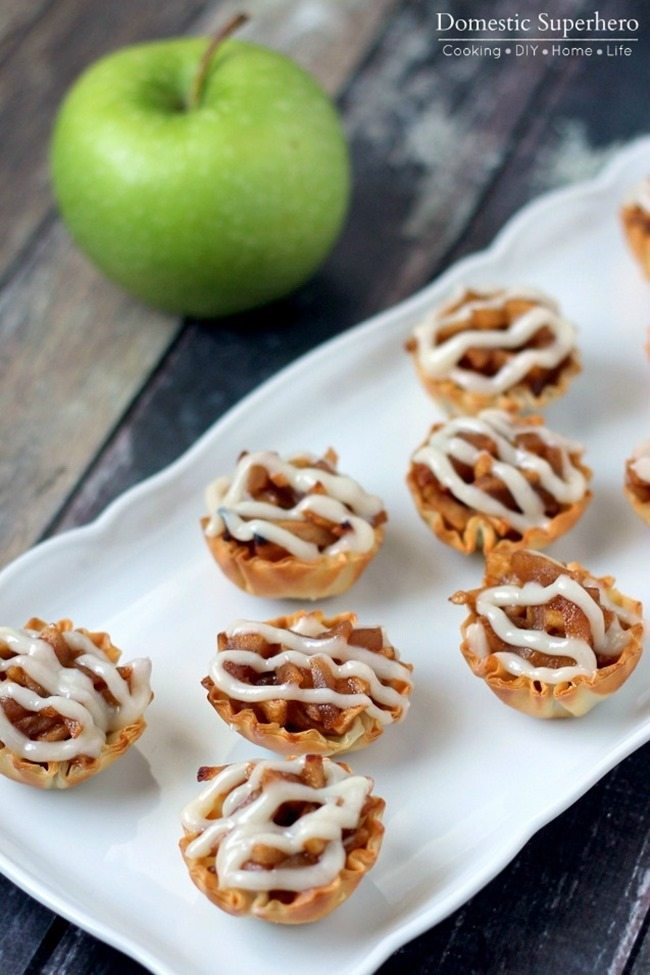 11 - Domestic Superhero - One Bite Apple Pie Tartlets