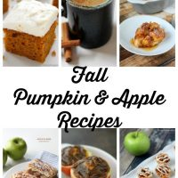 11 Pumpkin and Apple Recipes that are perfect for fall!