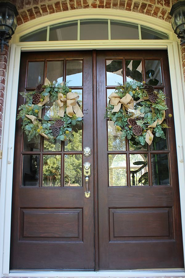 Clean your windows, refresh your wreath, stain your door and more for great curb appeal refreshrestyle.com