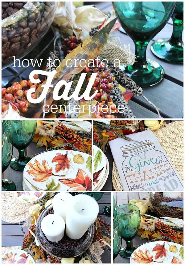 How to create a fall centerpiece at refreshrestyle.com