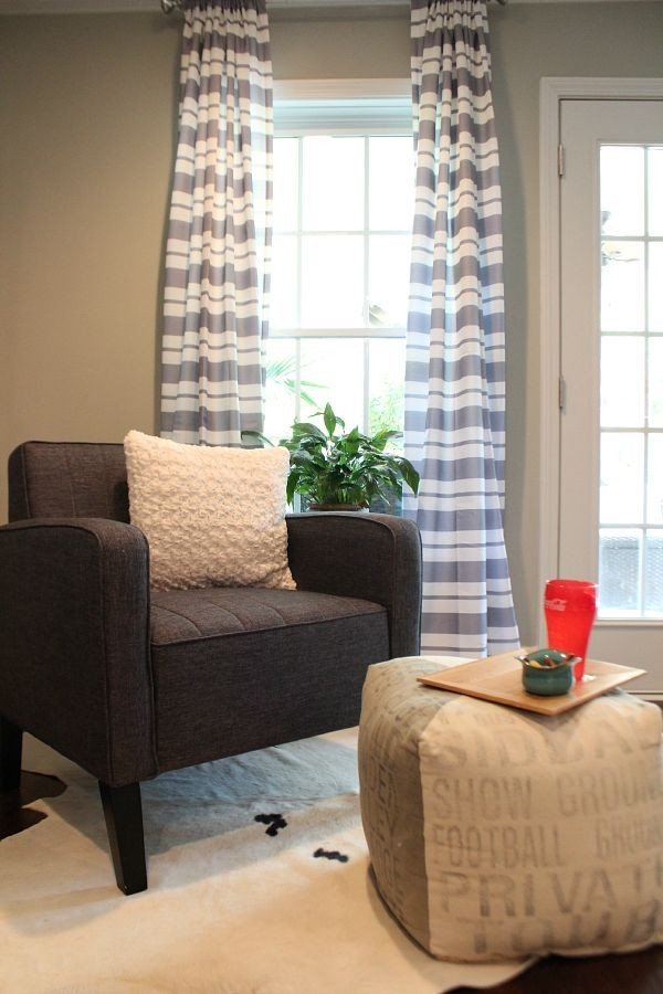 Reading are with pillow and curtains from BHG at Walmart #sp from refreshrestyle.com