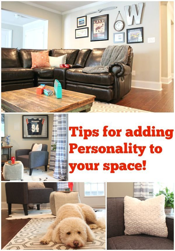 Tips for adding personality to your space with BHG at Walmart #sp at refreshrestyle.com