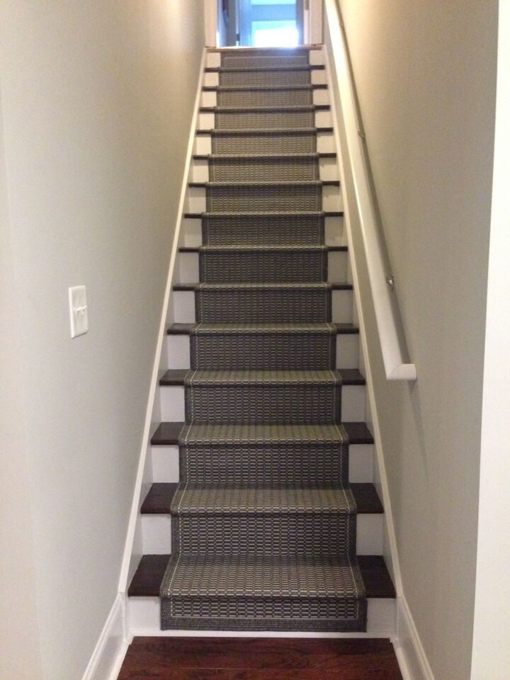 Basement stairs finished refresh restyle for Finishing a basement step by step guide