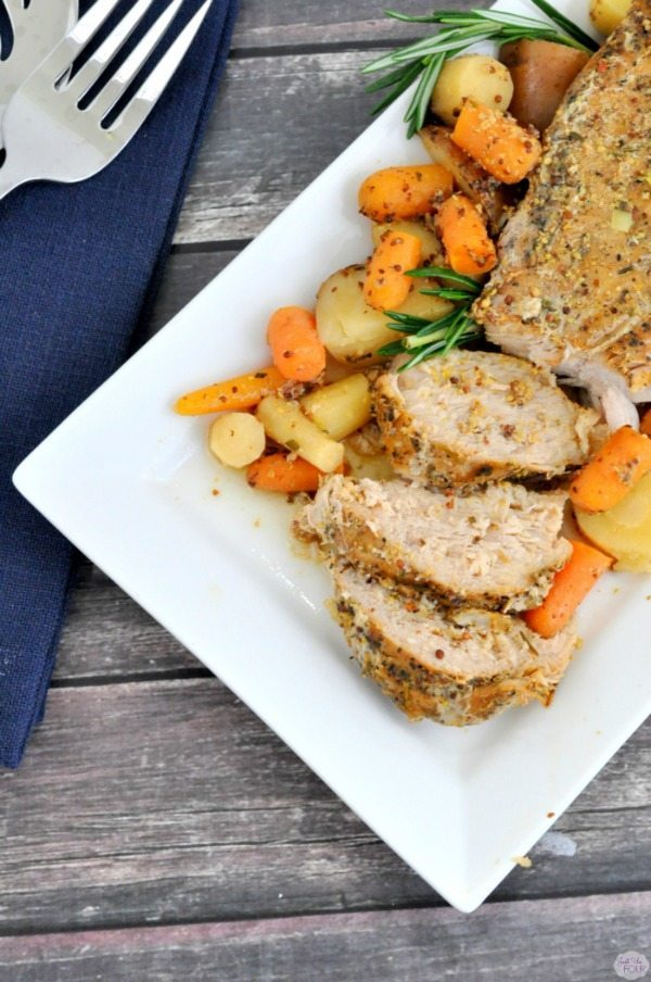 01 - Just Us Four -Roasted Pork Tenderloin with Root Vegetables