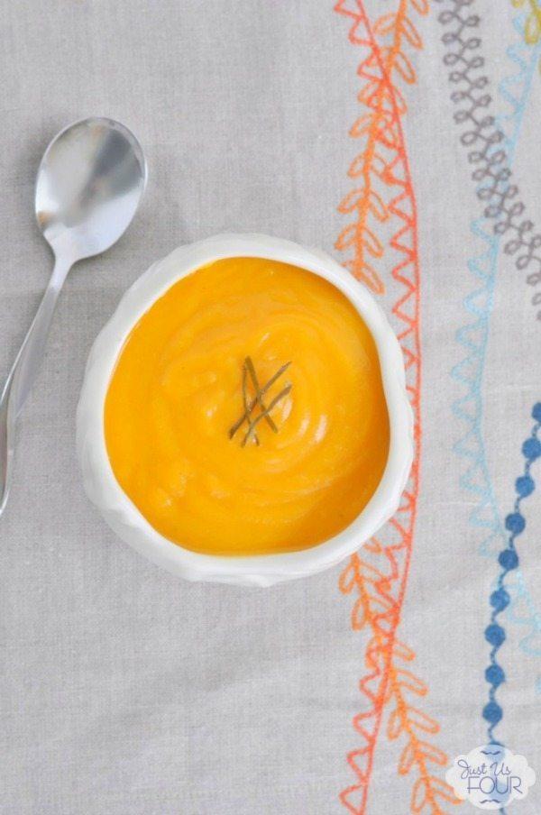 01 - Just Us Four - Thai Butternut Squash Soup