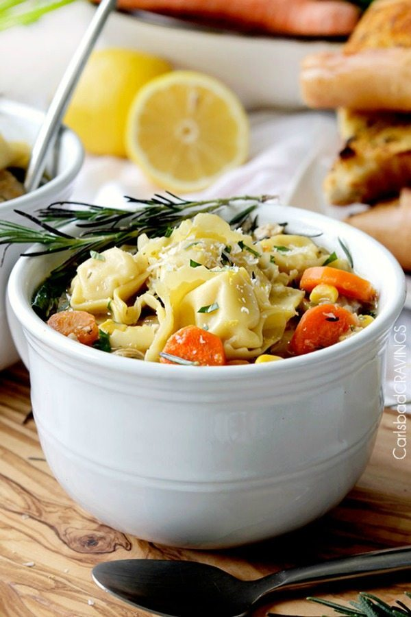 10 - Carlsbad Cravings - Lemon Chicken Tortellini
