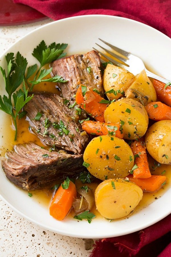 11 - Cooking Classy - Pot Roast with Potatoes and Carrots