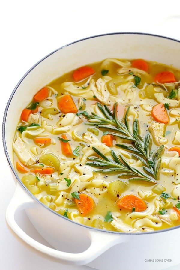 11 - Gimme Some Oven - Rosemary Chicken Noodle Soup