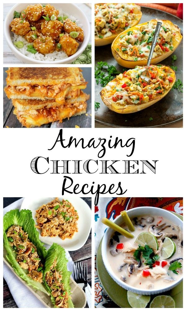 11 Amazing Chicken Recipes