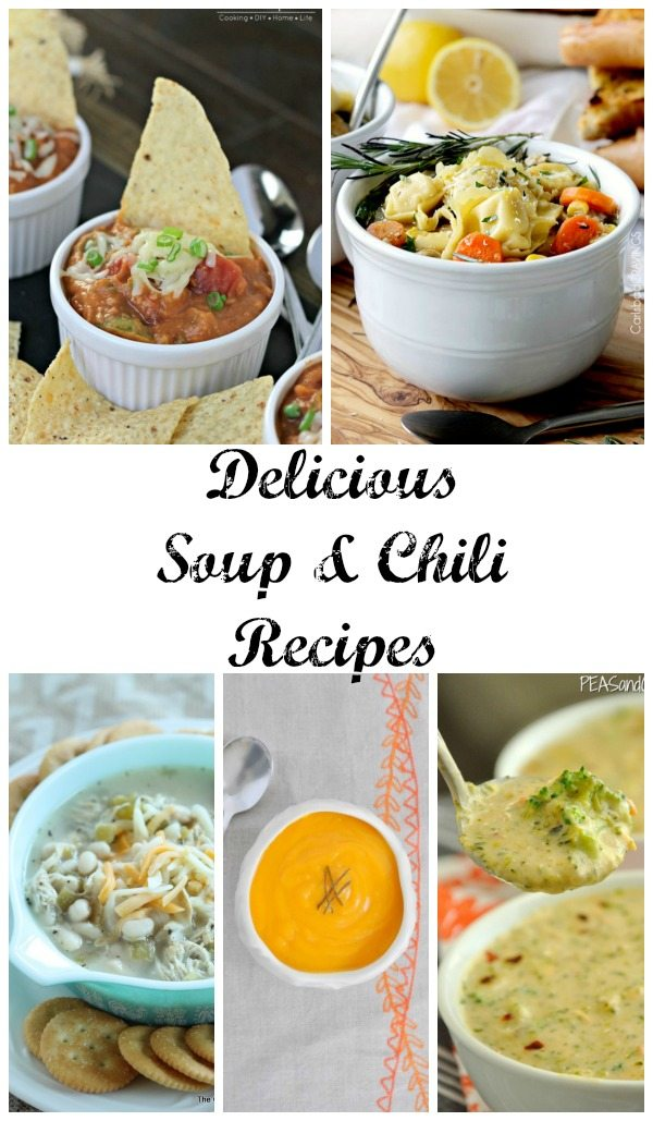 11 Delicious Soup and Chili Recipes