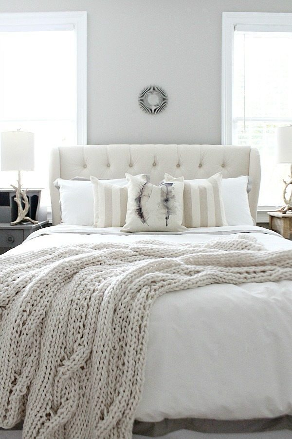 Guest Bedroom Makeover Refresh Restyle
