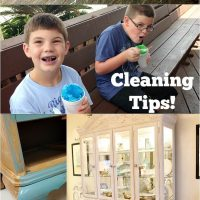 Cleaning tips with Huggies Wipes at refreshrestyle.com