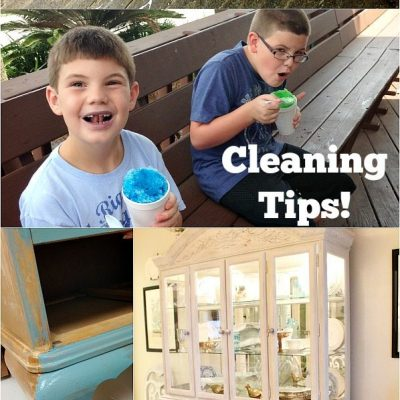 Cleaning Tips with Huggies Wipes