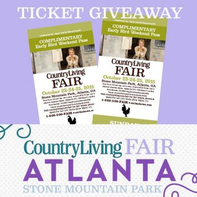 Country Living Fair at Stone Mountain Park Atlanta Ga 2015