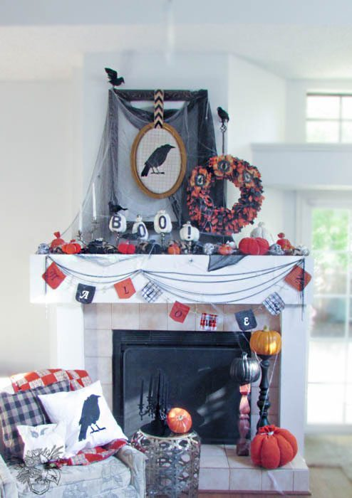 Halloween+Mantle+-+Pocketful+of+Posies