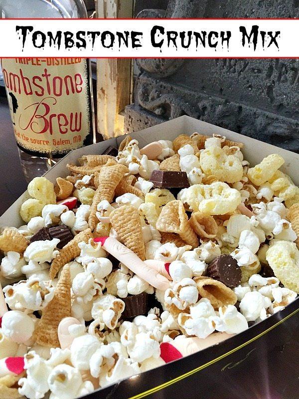 Halloween Recipe for Tombstone Crunch Recipe