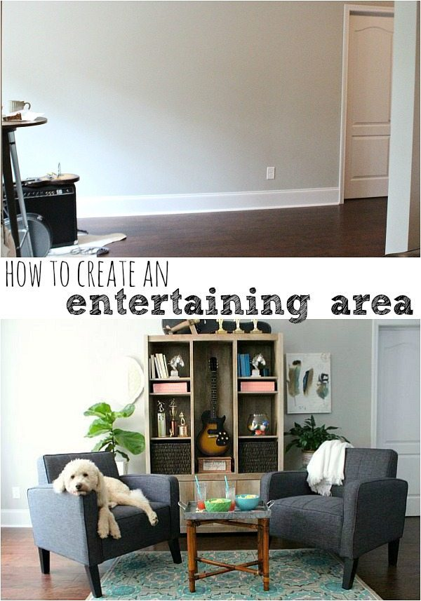 How to create an entertaining area at refreshrestyle.com