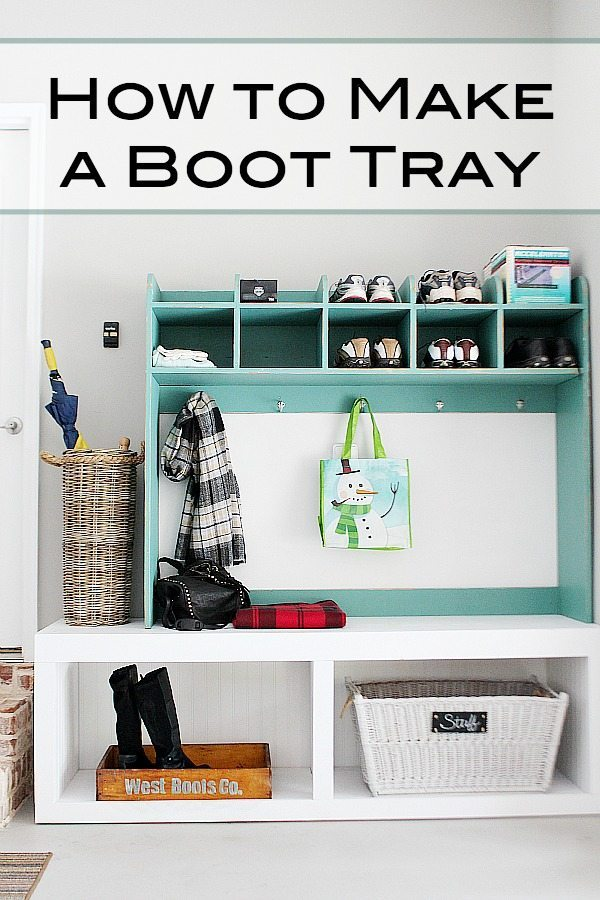 How to make a boot tray at refreshrestyle.com