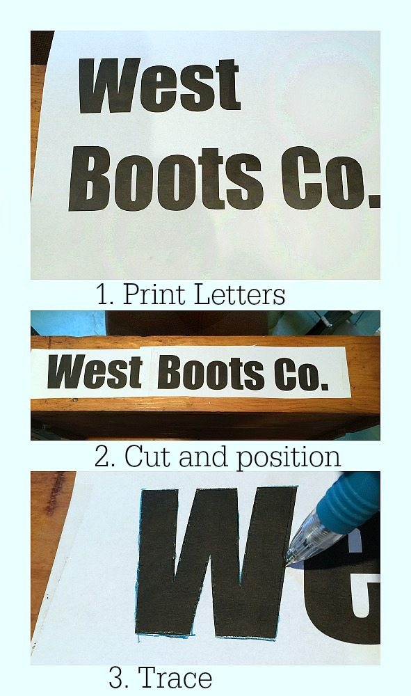 How to make a sign the easiest way at refreshrestyle.com