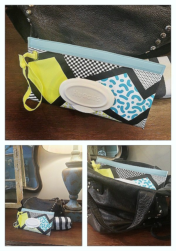 Huggies Wipes clutch for your bag
