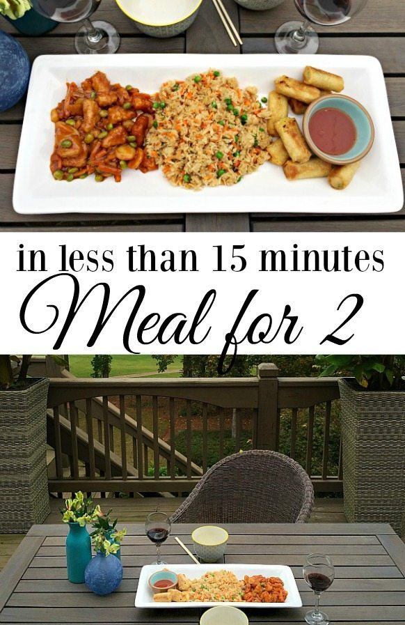 Meal for 2 in less than 15 minutes P.F. Chang's Home Menu #ad at refreshrestyle.com