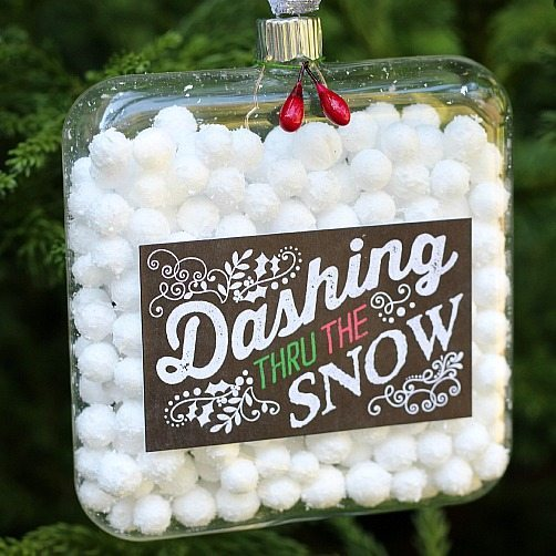 Snow Ball Ornament