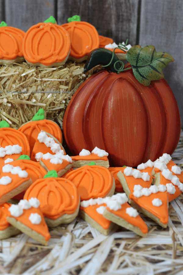 Mini Pumpkin Cookies from Adventures of Country Divas