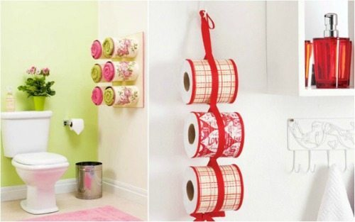 03 - DIY Enthusiasts - Tin Can Bathroom Organization