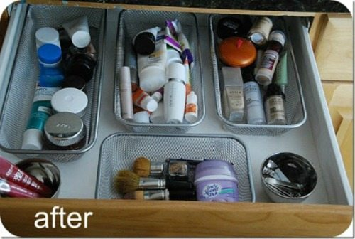 06 - Tatertots and Jello - Velcro Drawer Organizers