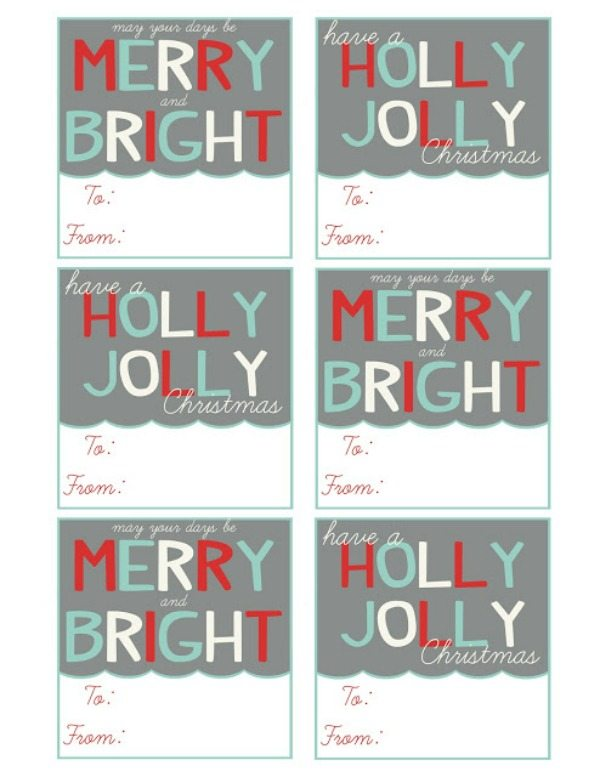 09 - Mommy by Day Crafter by Night - Gray Christmas Gift Tags