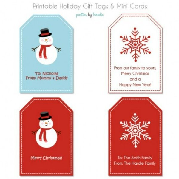 10 - Tip Junkie - Holiday Mini Cards and Tags