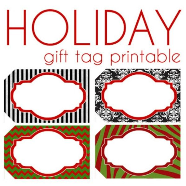 11 - I Should Be Mopping the Floor - Holiday Gift tags