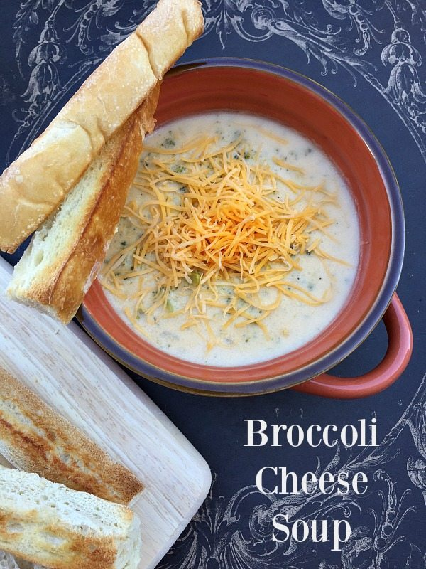 Broccoli Cheese Soup Recipe from Mama's cookbook yummy and fast