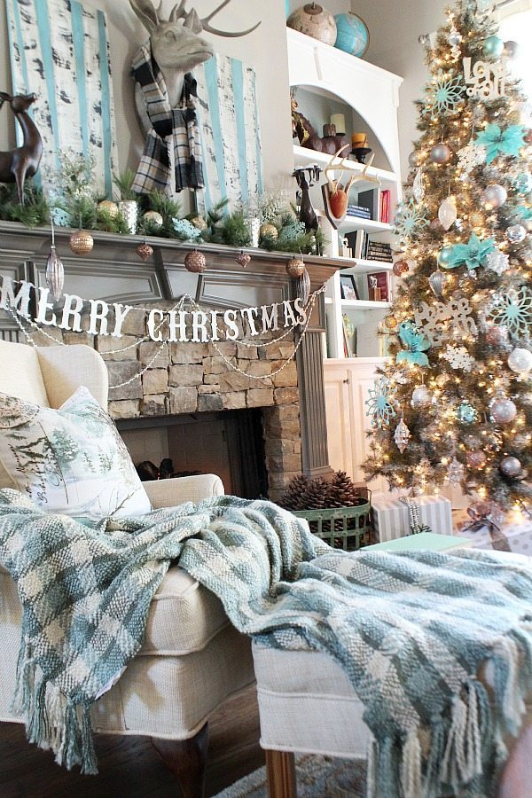 Country Living Home tour for Christmas at Refresh Restyle