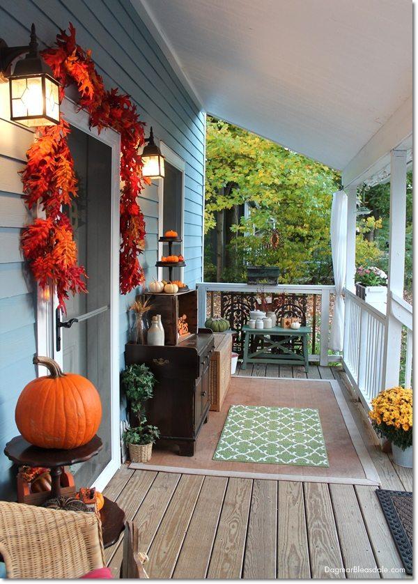 Fall Porch Idea