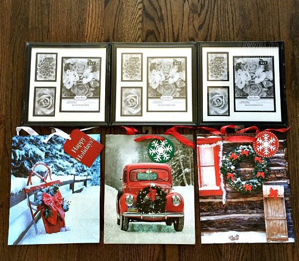 frames for dollar tree christmas art