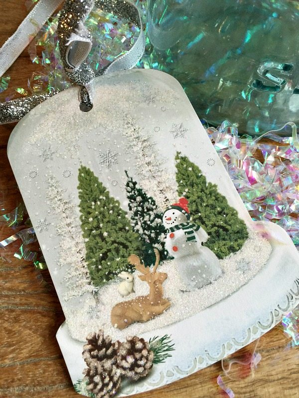 Gift tag for Mason Jar Christmas gift