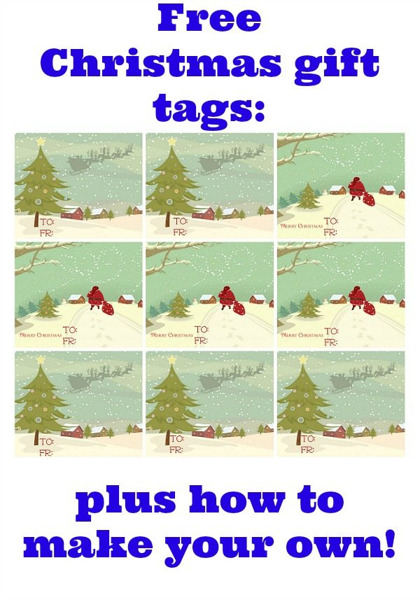 How to make gift tags with graphicstock refresh restyle for How to print your own labels